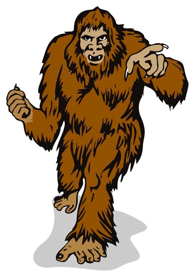 Bizarre stinks ahis there. Bigfoot clipart smelly