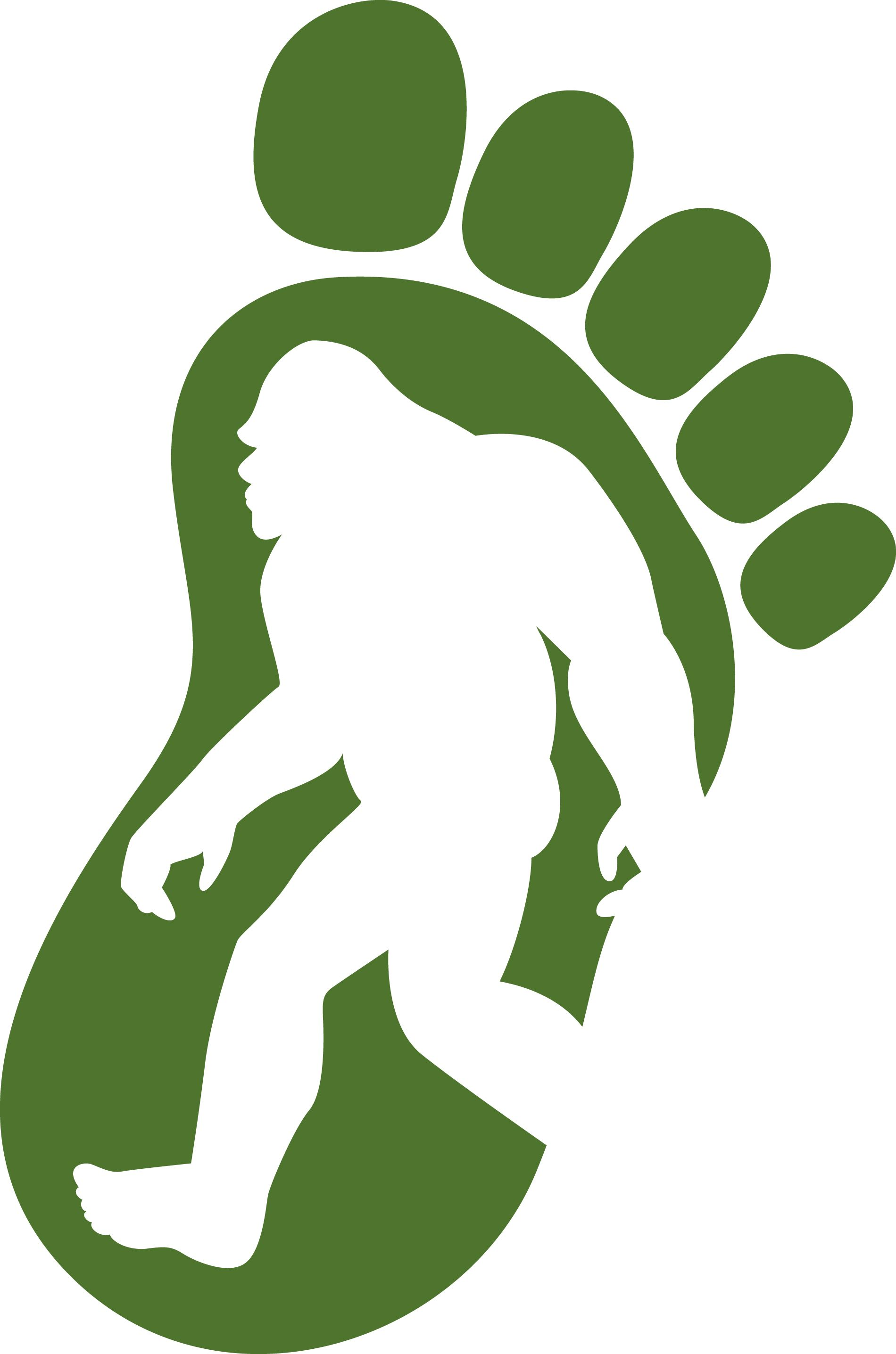 Bigfoot clipart yeti. Digital scrapbooking sasquatch google