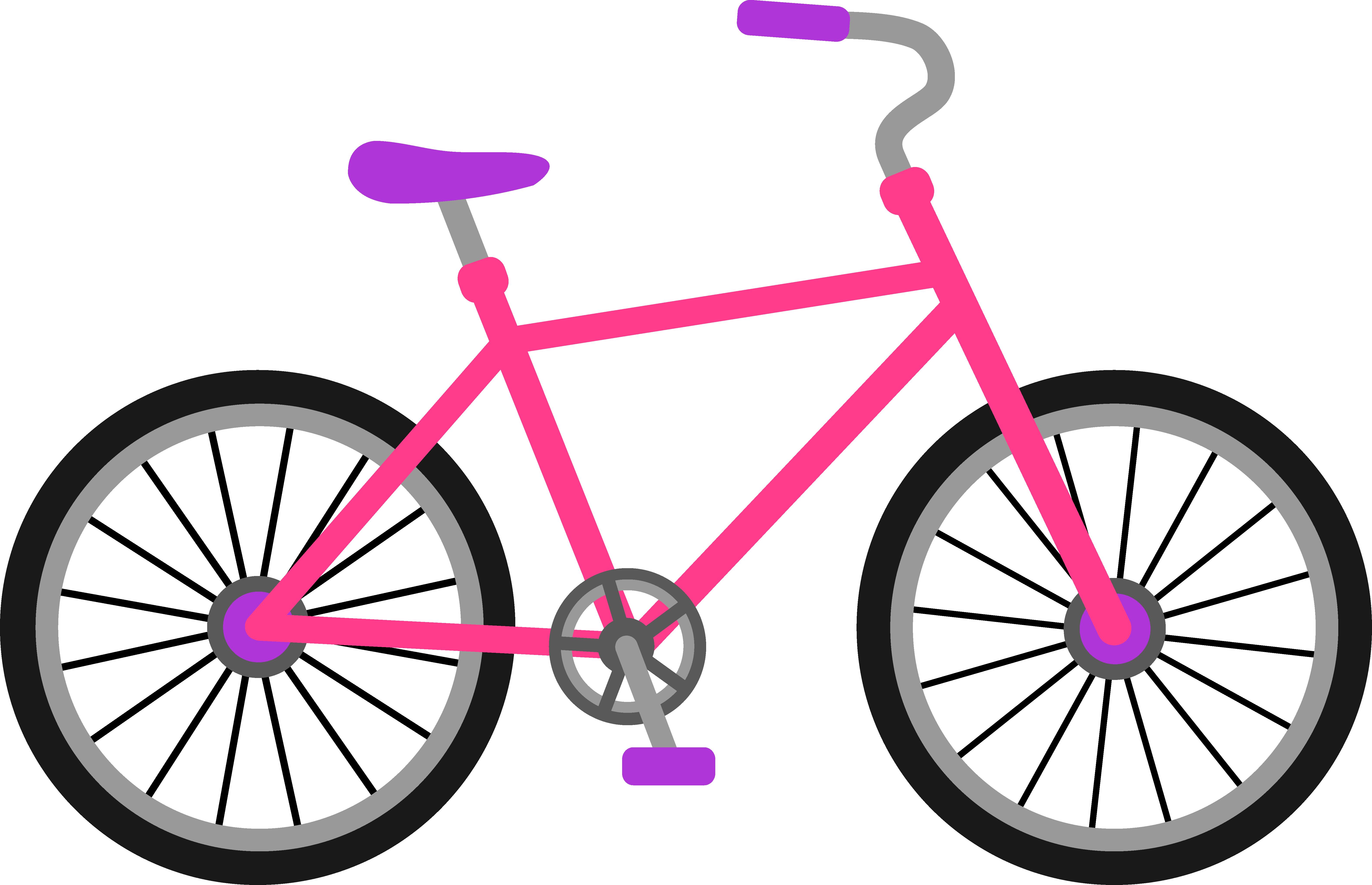 Bicycle panda free images. Bike clipart