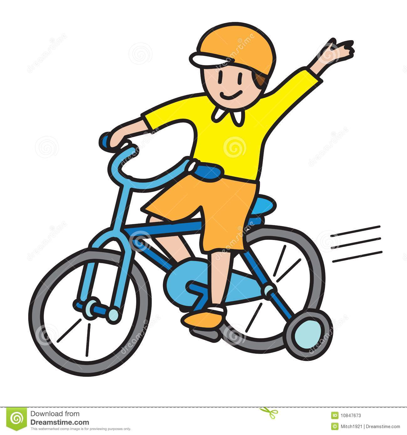 Riding bike rider . Clipart bicycle rode