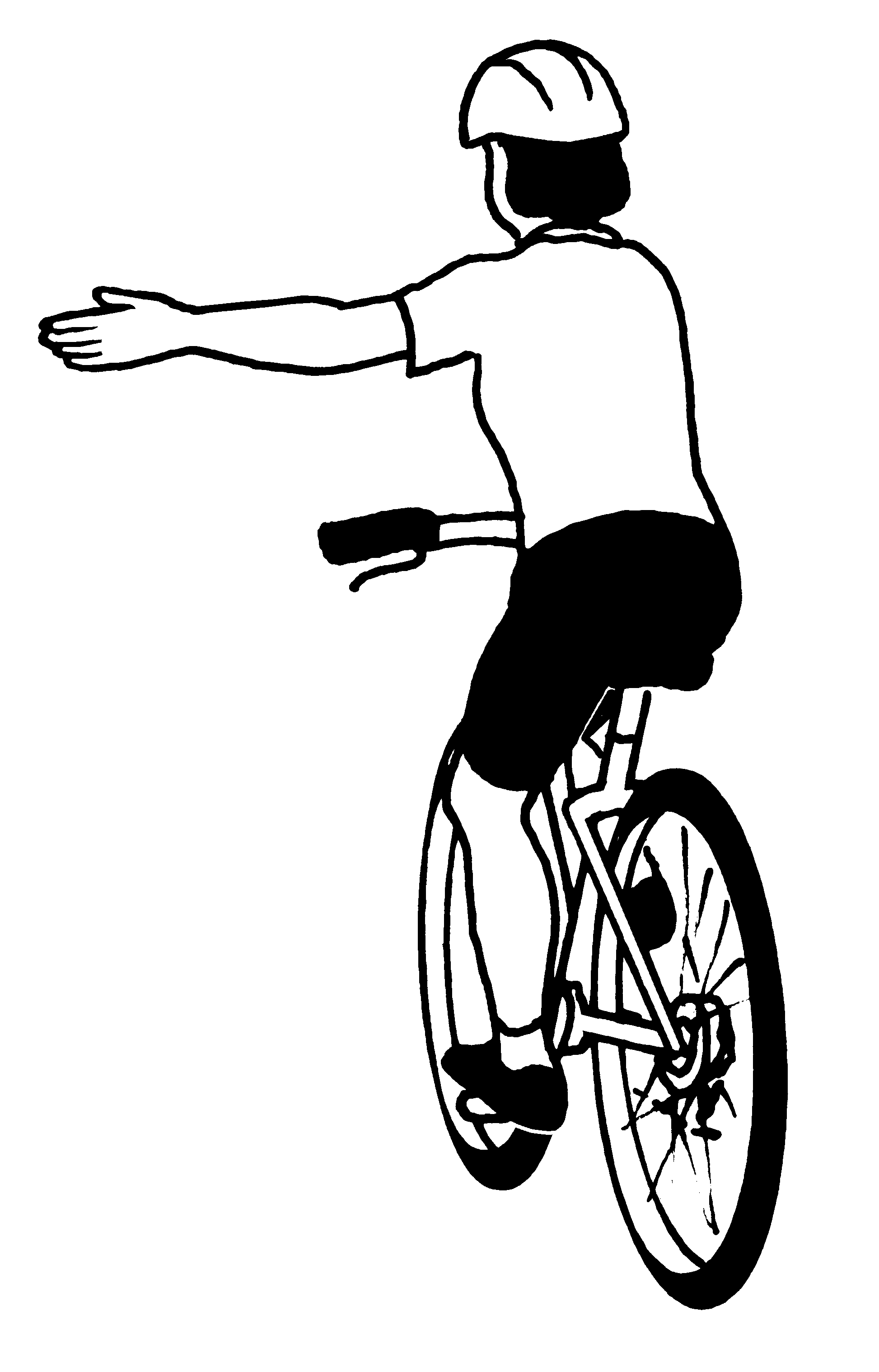 Bike clipart bike safety. Linc students learn rules