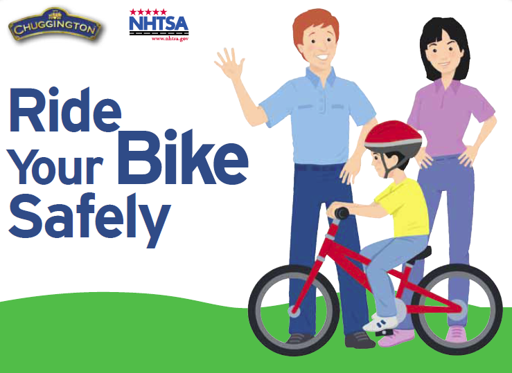 May is national month. Bike clipart bike safety