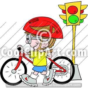 Bike clipart bike safety.