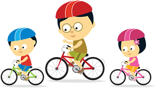 Bike clipart bike safety. Caddo sheriff s town
