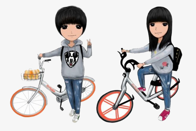 Bike clipart cartoon. Ride a lovers loving