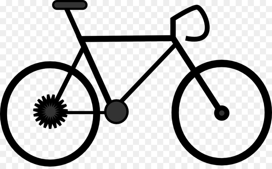 Bicycle cycling drawing clip. Bike clipart cartoon