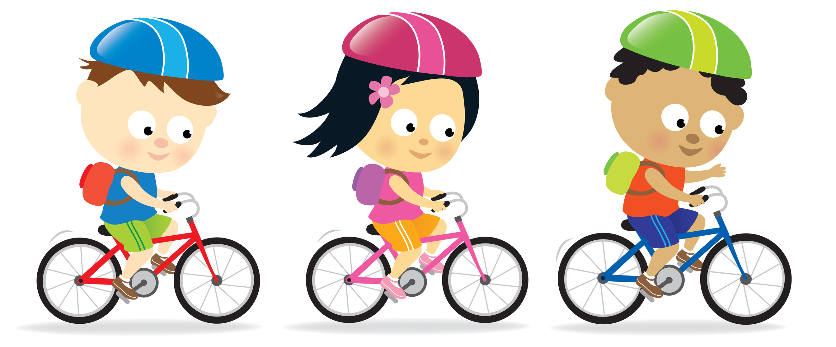 Safety . Bicycle clipart kid bike