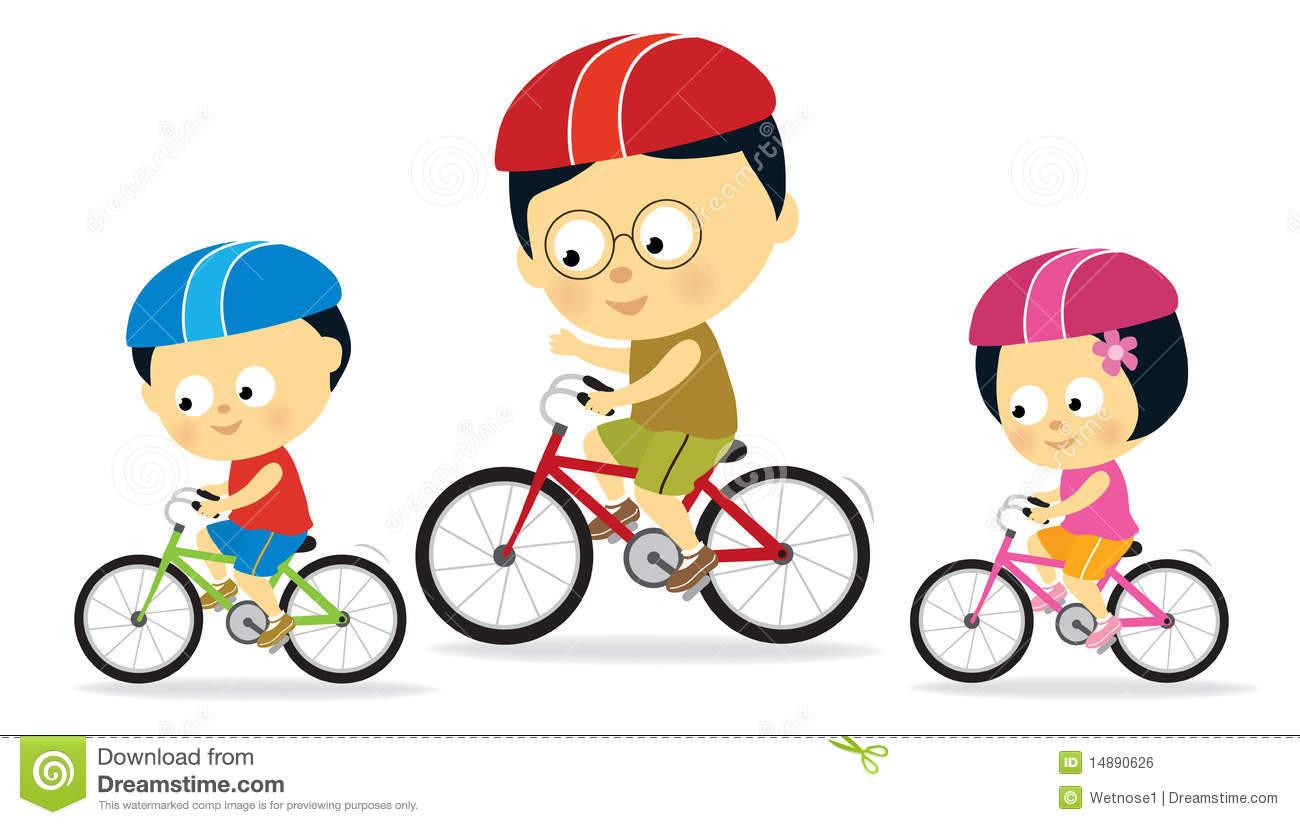 Asian clipart toddler. Kids riding bikes panda