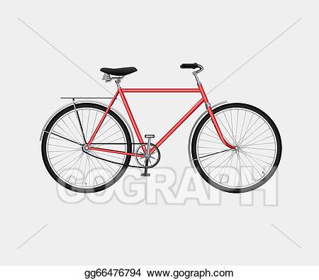 Eps illustration vector gg. Clipart bike classic