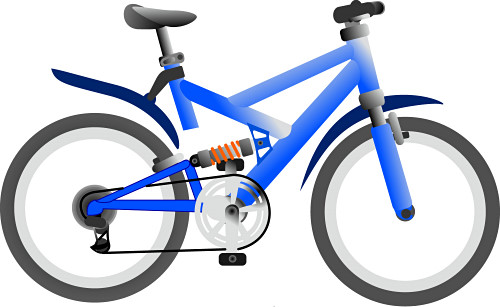 Bike clipart clip art. Image of bicycle a