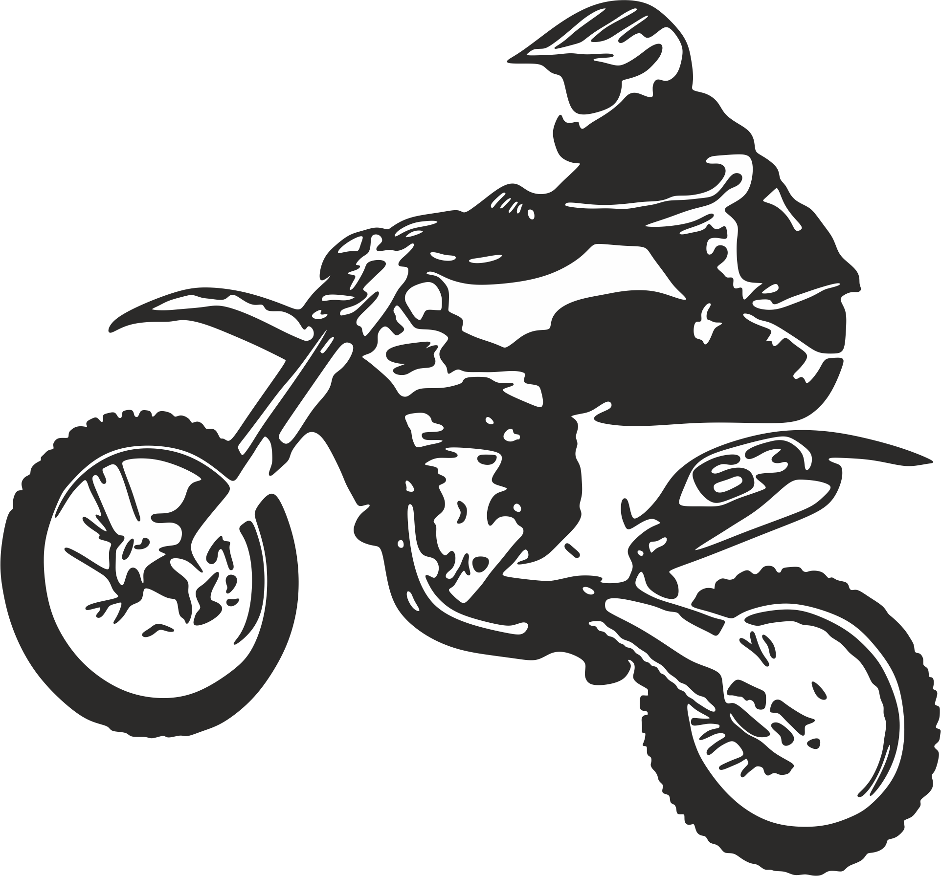 Clipart bicycle motorbike. Clip art motorcycle dirt