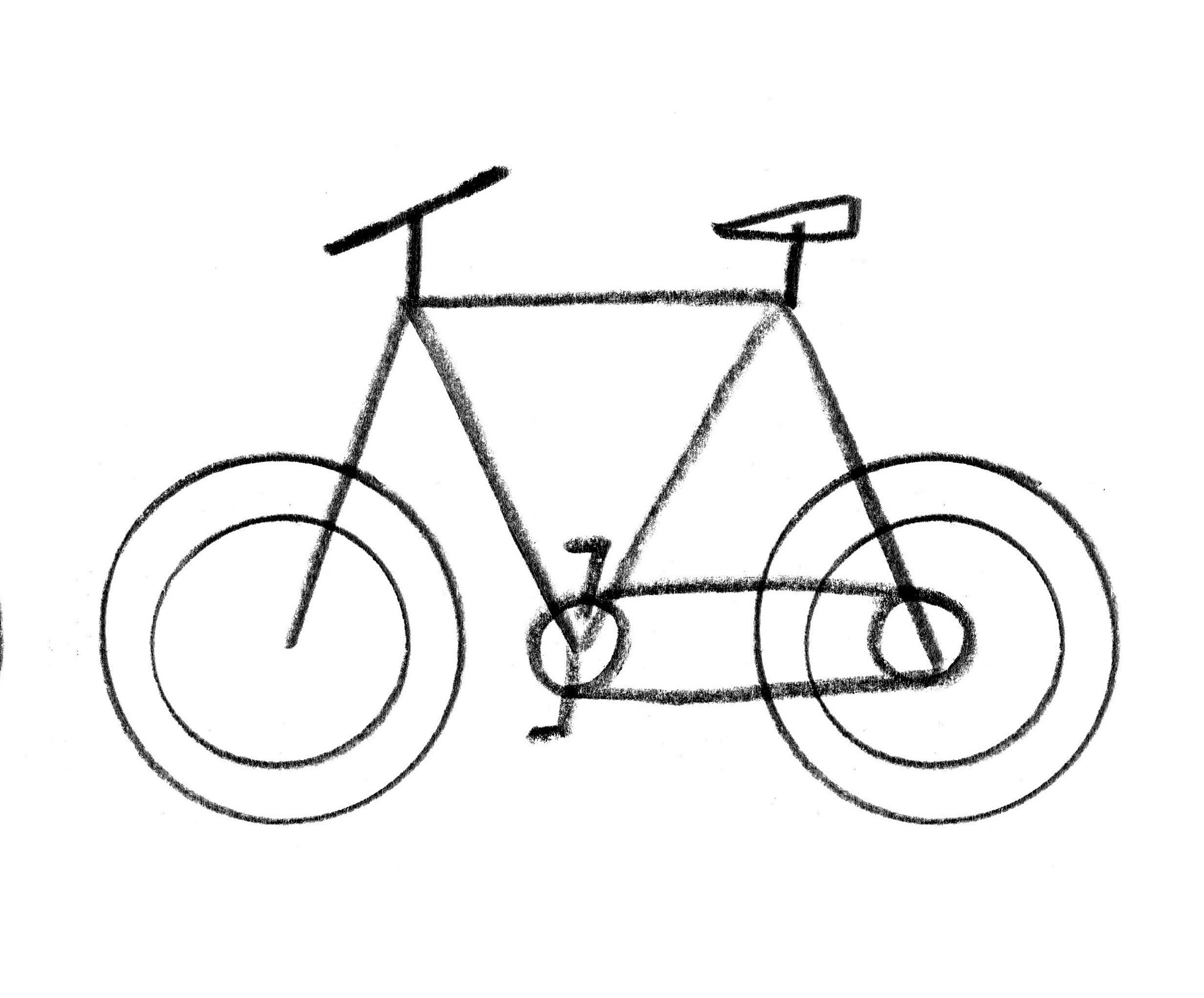 Motorcycle drawing at getdrawings. Bike clipart easy
