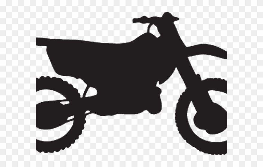 Bike clipart easy. Silhouette dirt pinclipart