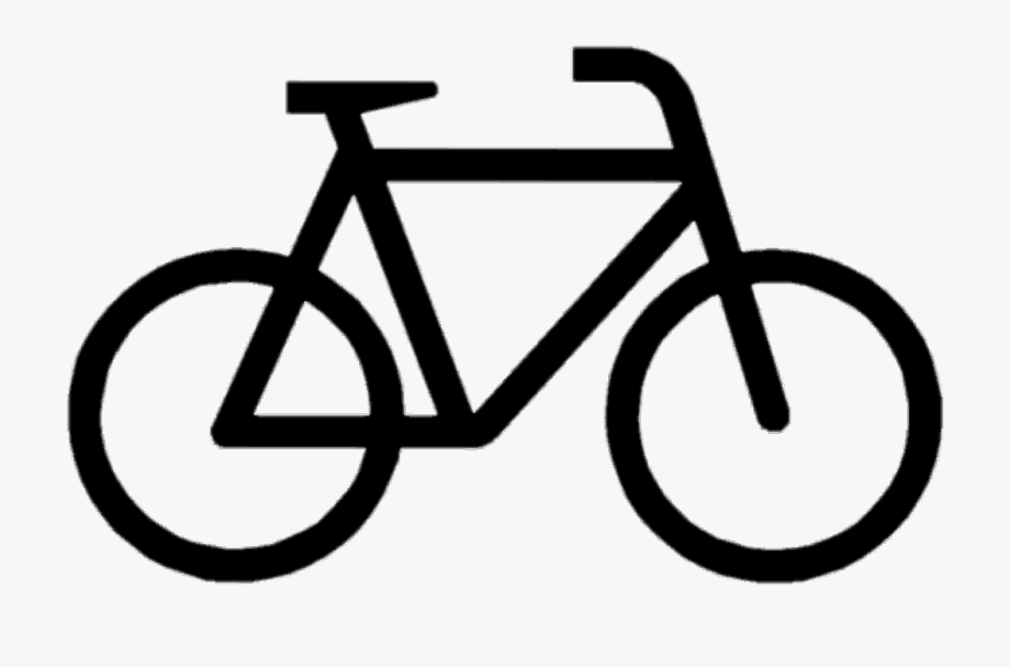 Cicle bycicle bicycle fahrrad. Bike clipart easy
