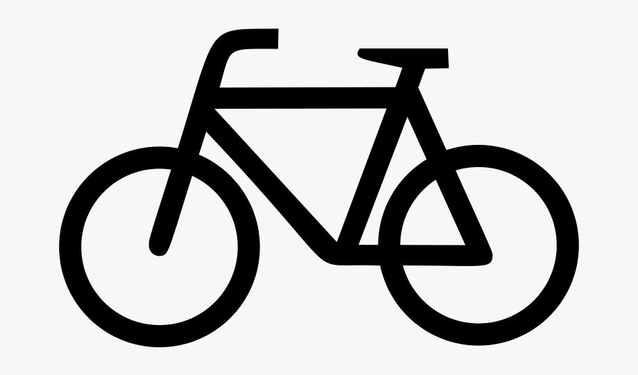 Lycra free ride around. Bike clipart icon
