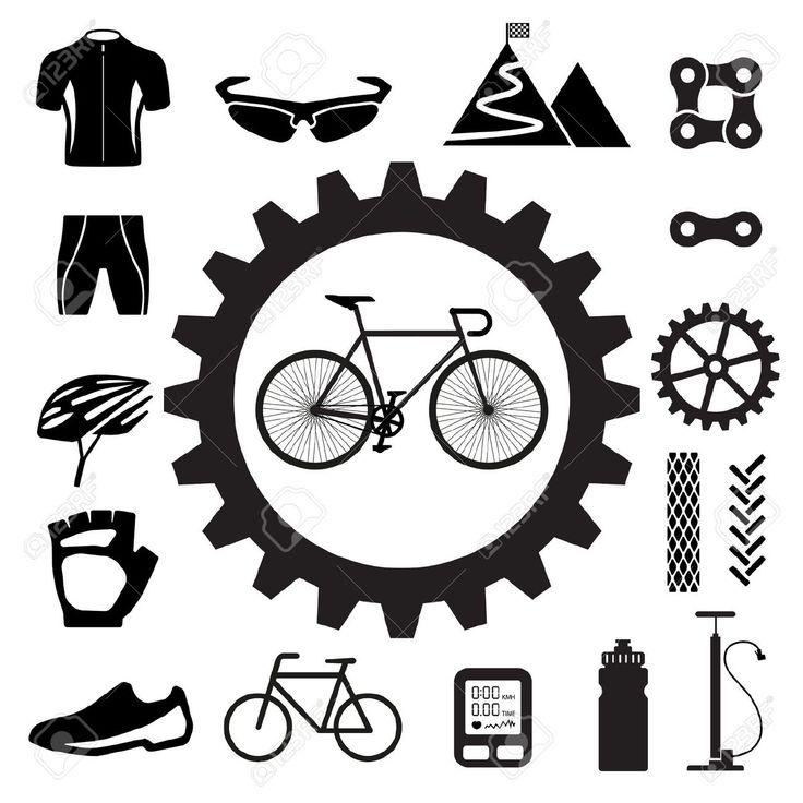 best google doodle. Bike clipart icon