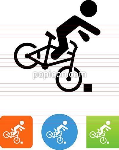 Bike clipart icon. Accident popicon