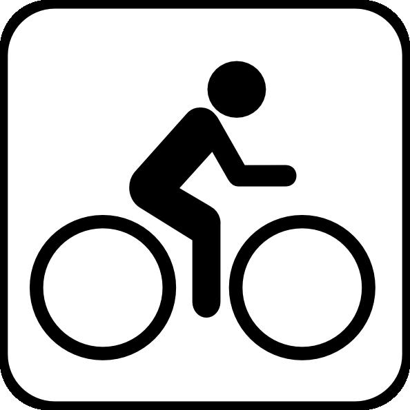 Bike clipart icon. Biking clip art at