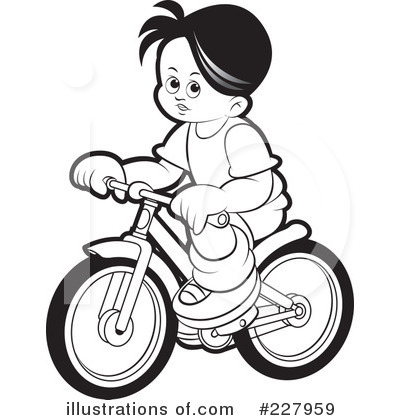 Bike clipart kid bike. Bicycle illustration by lal