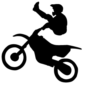 Clipart bike dirt bike. Panda free images info
