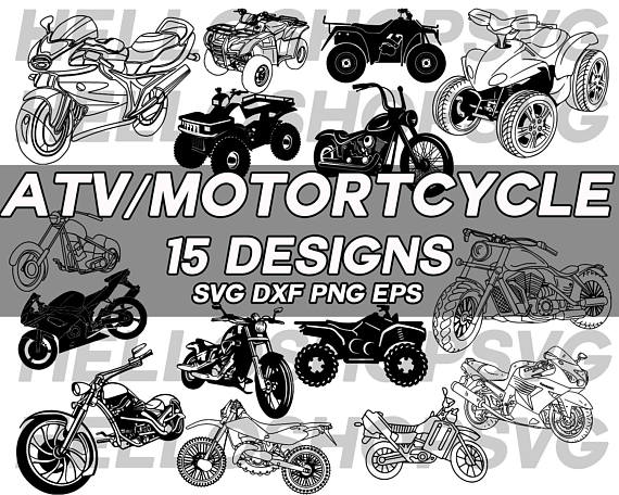 Bike clipart motorbike. Motorcycle svg atv dirt