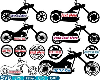 Bike clipart motorbike. Split frame cutting svg