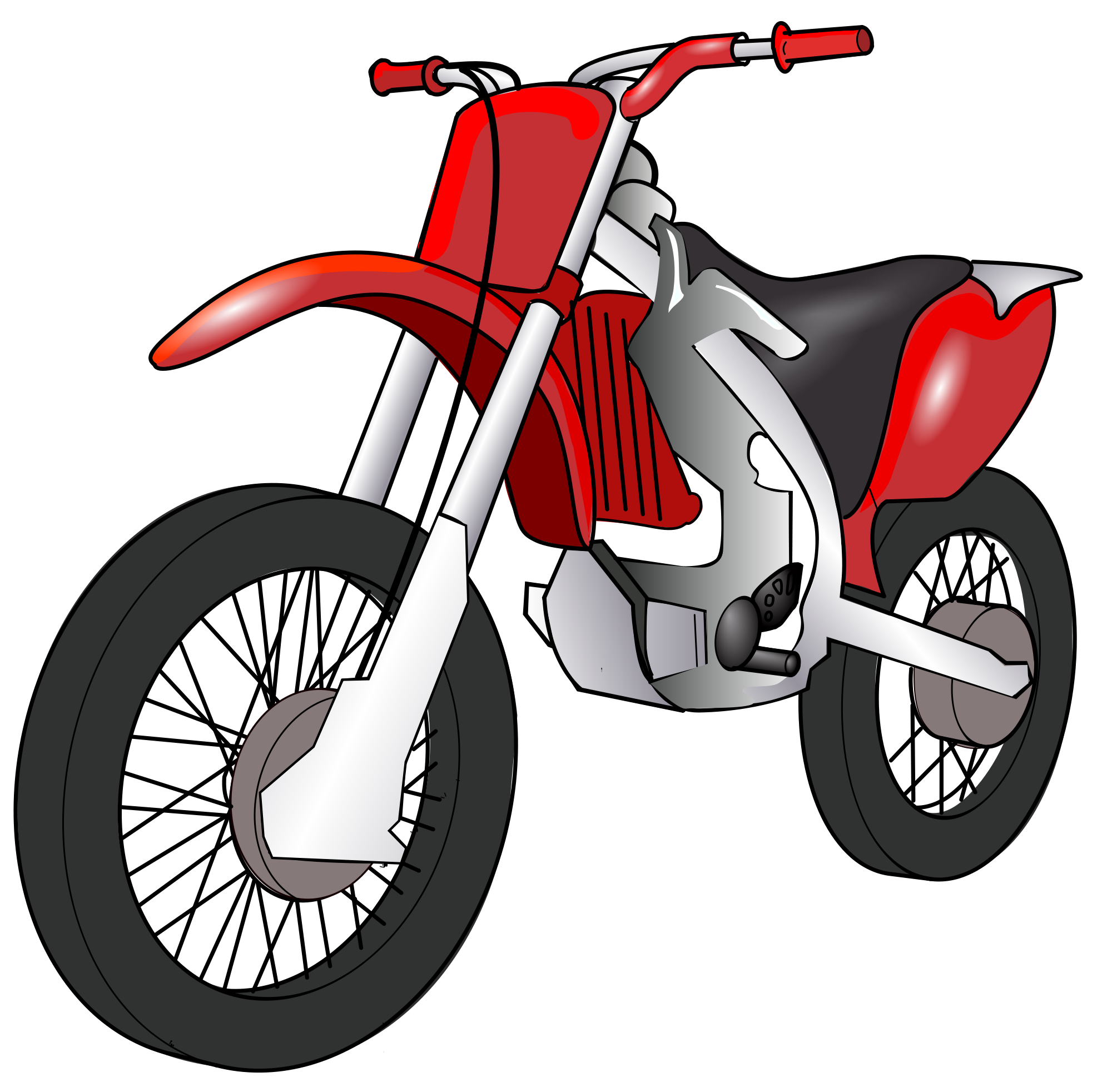Bike clipart motorbike. File svg wikimedia commons
