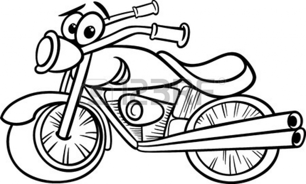 Motorcycle drawing at getdrawings. Bike clipart motorbike