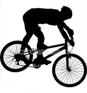Bike clipart mountain bike. Rider