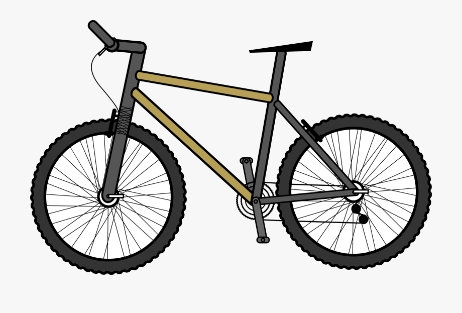 Cycle clipart land transportation. Bicycle marcus mountain bike
