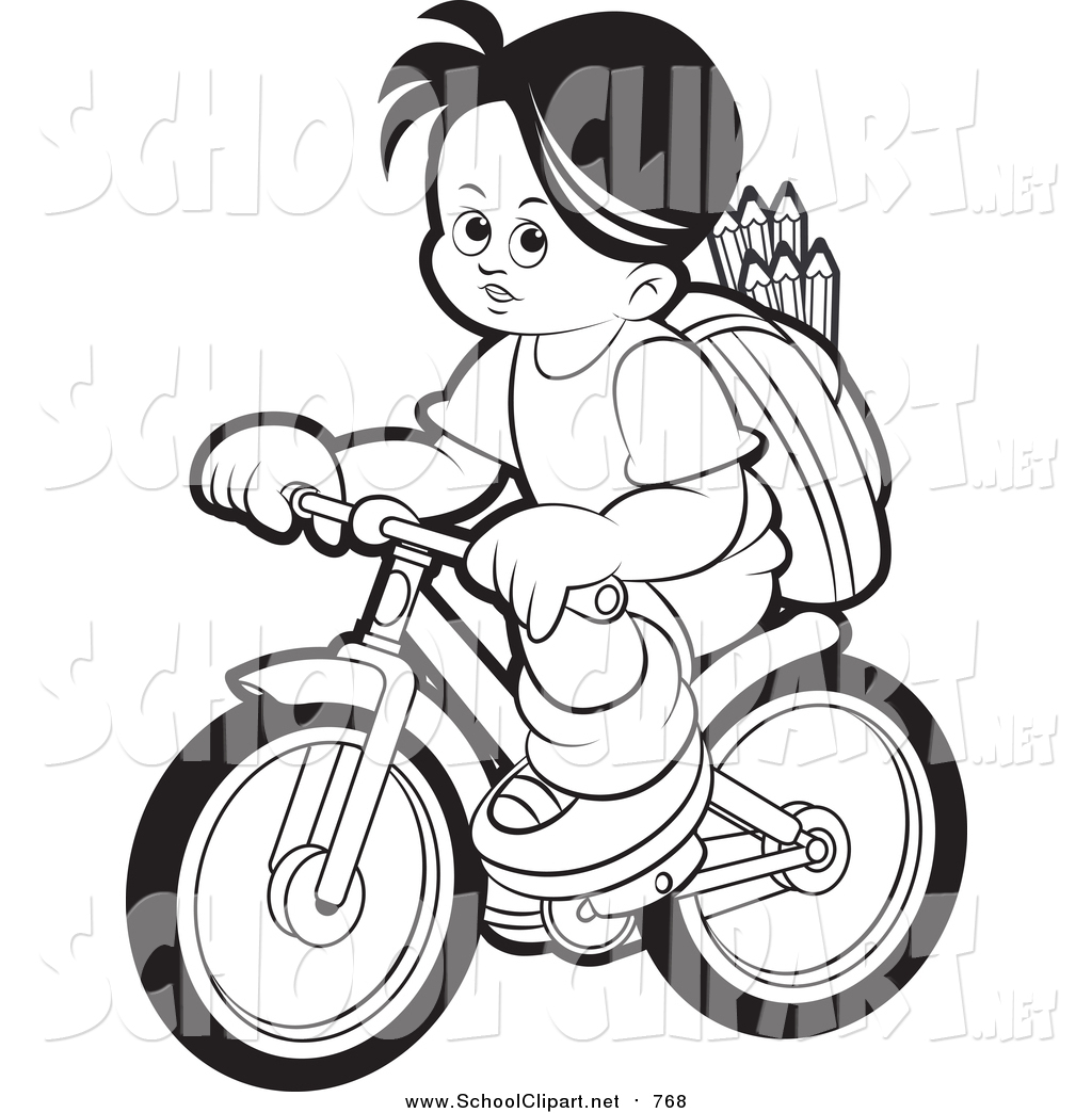 Bike clipart outline. Drawing at getdrawings com