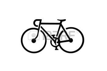 Bike clipart outline.  best outlines images