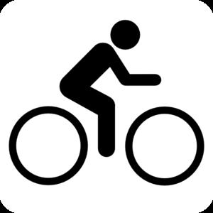 Clip art at clker. Clipart bike man