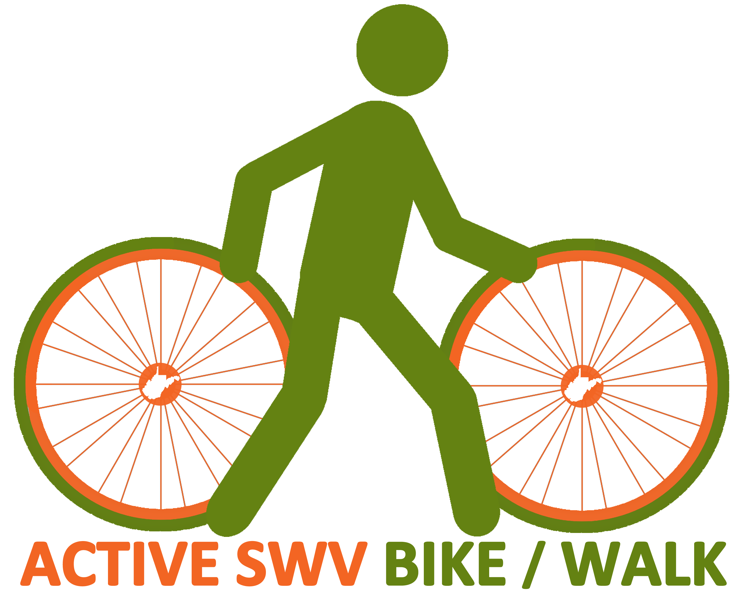 Active swv walk activeswv. Clipart bicycle bike trail
