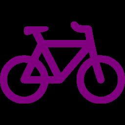 Bike clipart purple bike. Bicycle icon free icons
