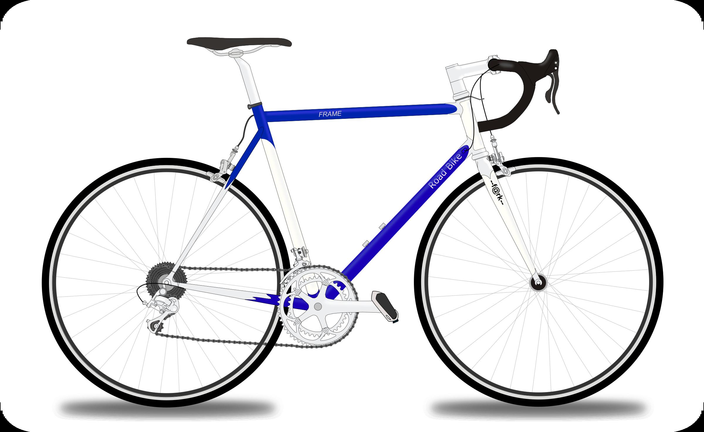 Bike big image png. Clipart road frame