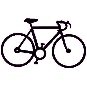 Silhouette at getdrawings com. Bike clipart road bike