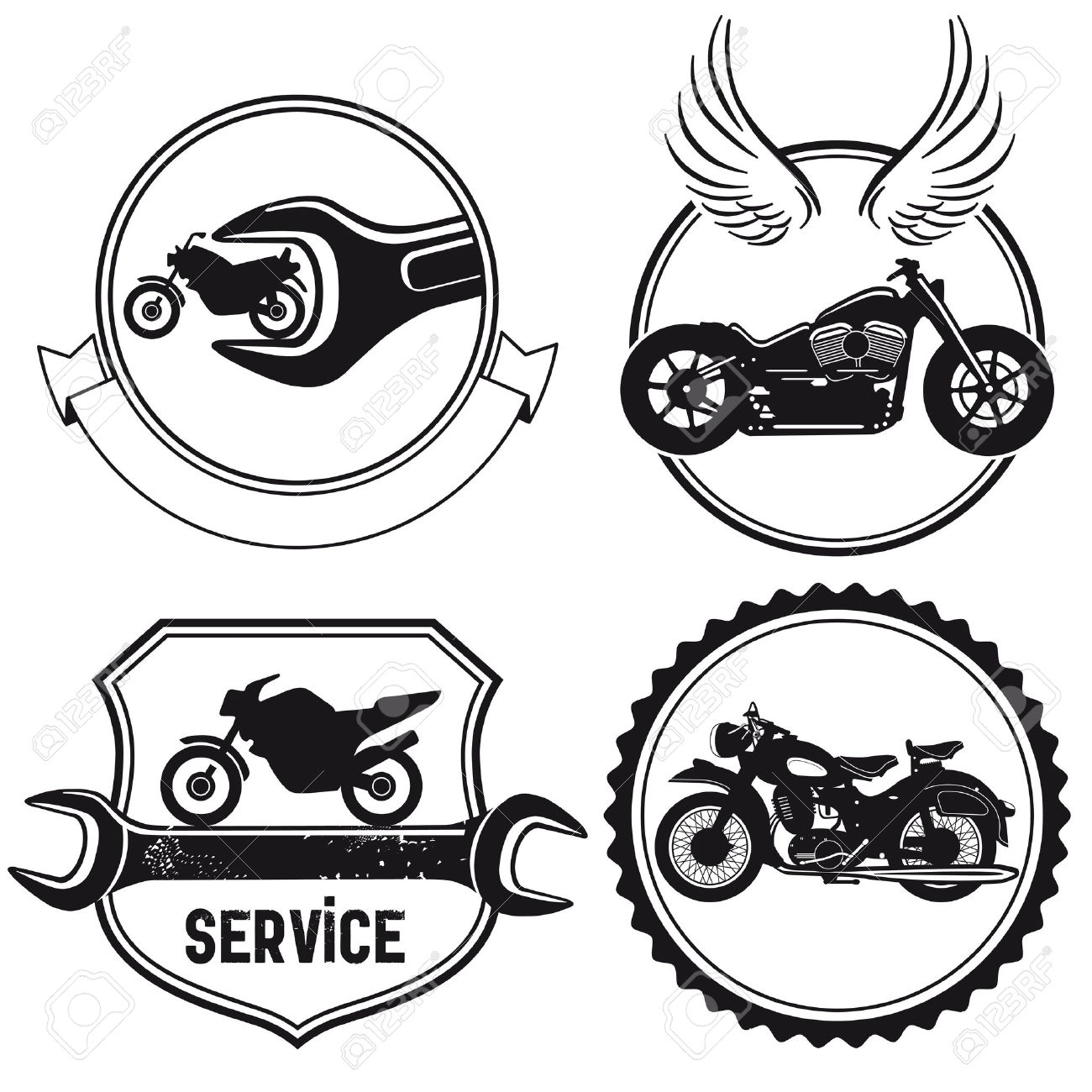 Motorcycle clipart motorcycle shop. Free service cliparts download