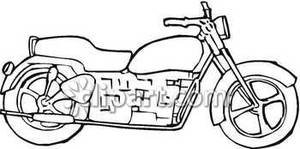 Of a black and. Bike clipart side view