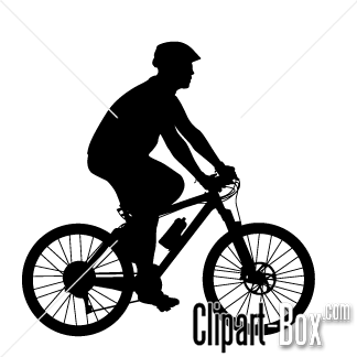 Clipart bike side view. Mountain cliparts vector free