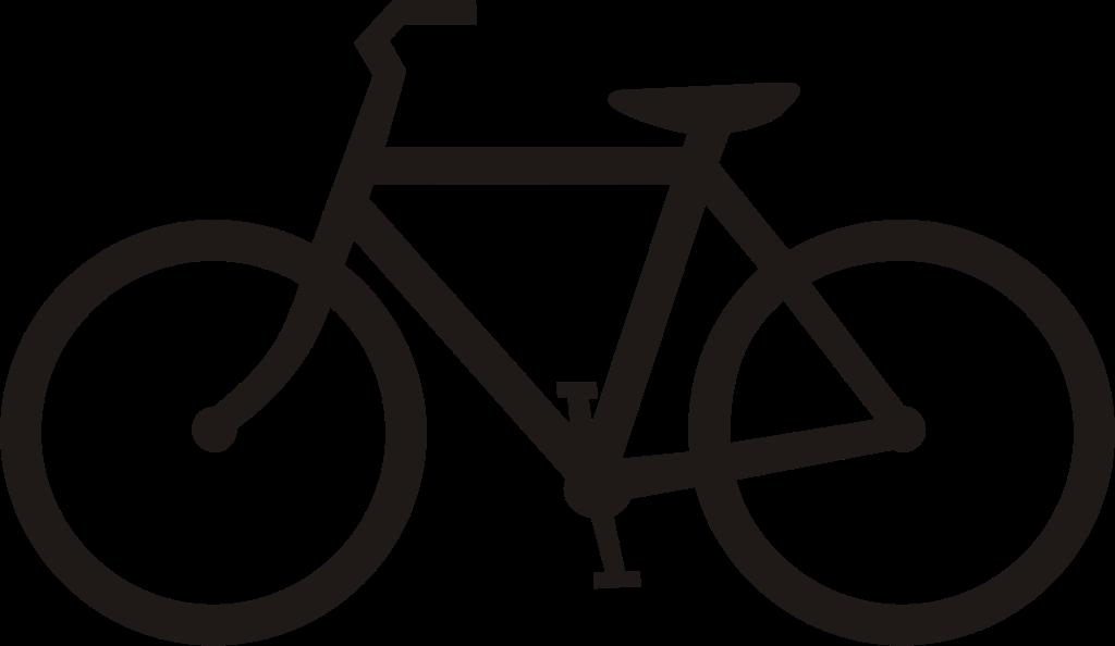 Bike clipart simple. File usdot highway sign