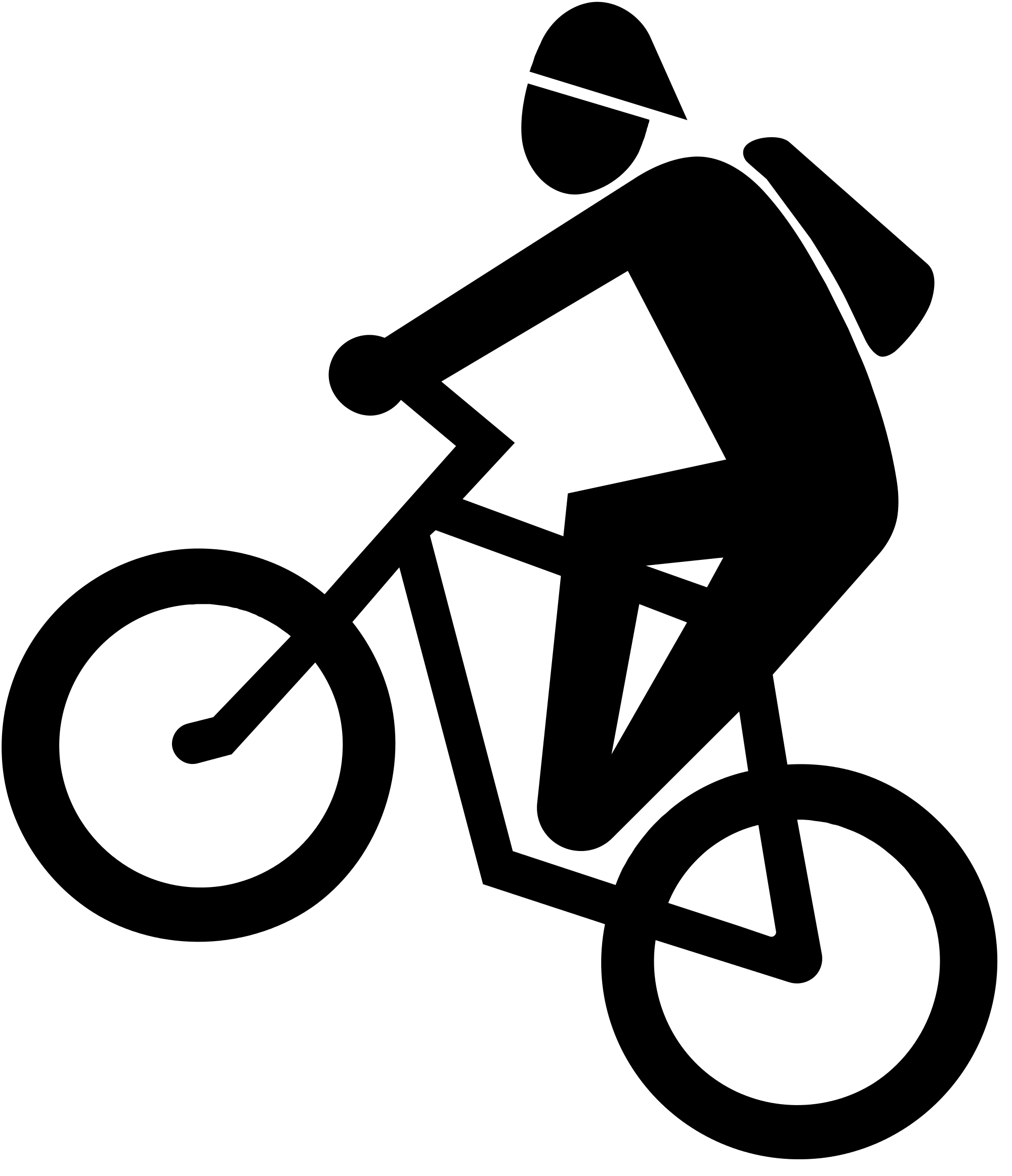 File ch zusatztafel mountain. Clipart mountains cycling