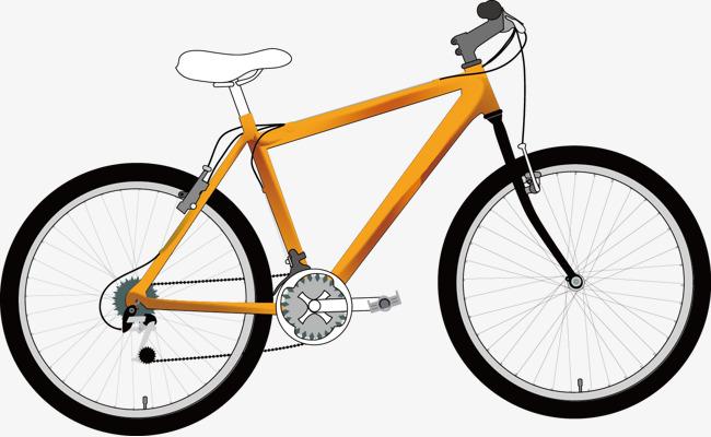 Cartoon bicycle png image. Bike clipart transportation