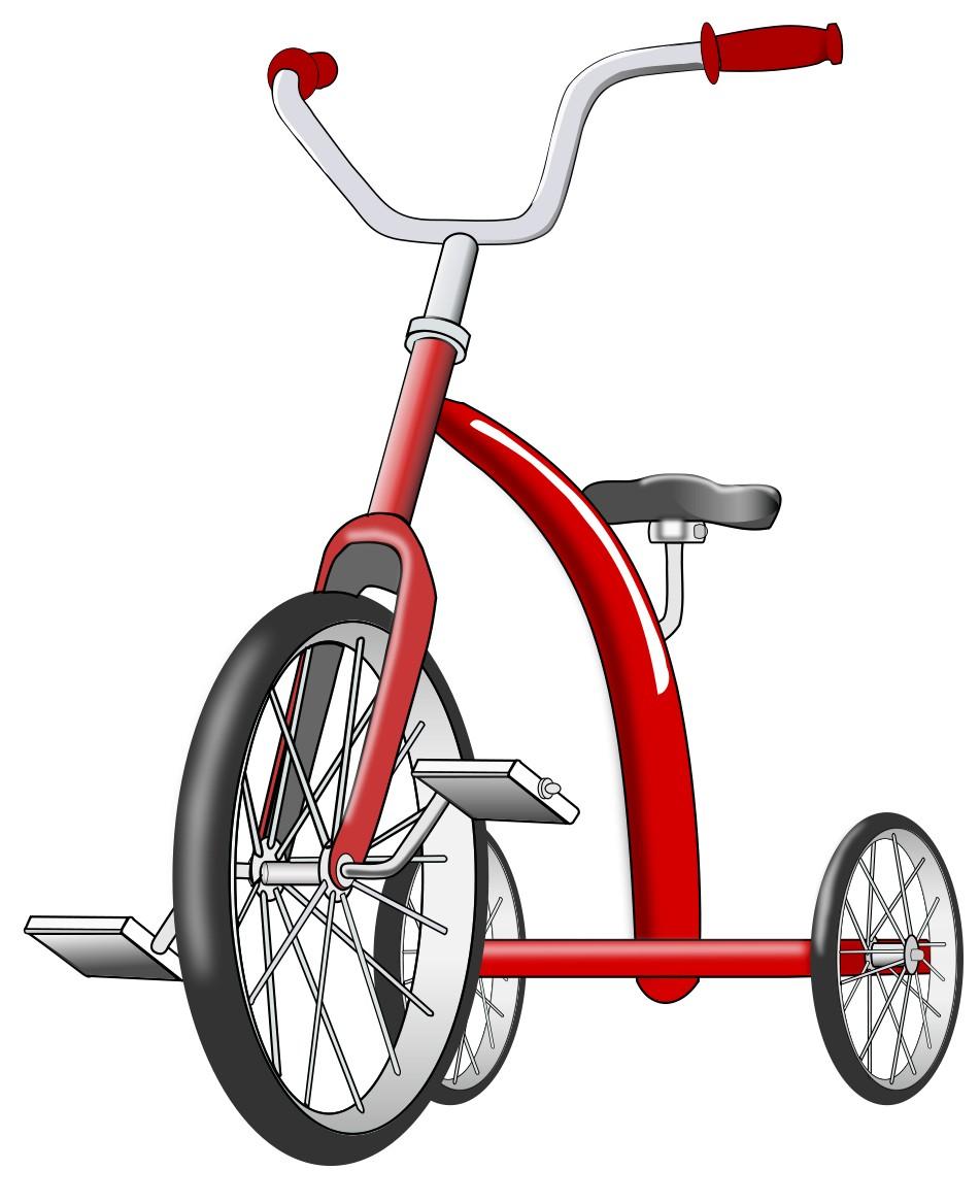 Motiongenesis three wheel vehicle. Bike clipart tricycle