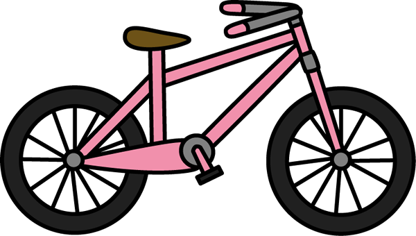 Bicycle clip art images. Biking clipart