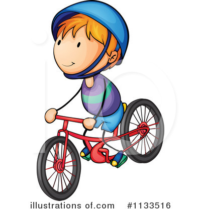 Biking clipart. Bike illustration by graphics