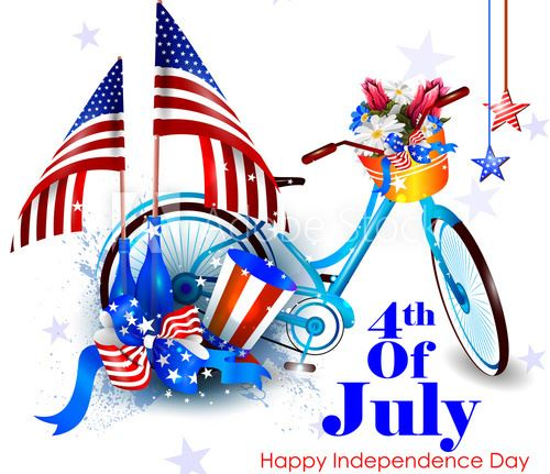 Biking clipart 4th july. Spring hill tn official
