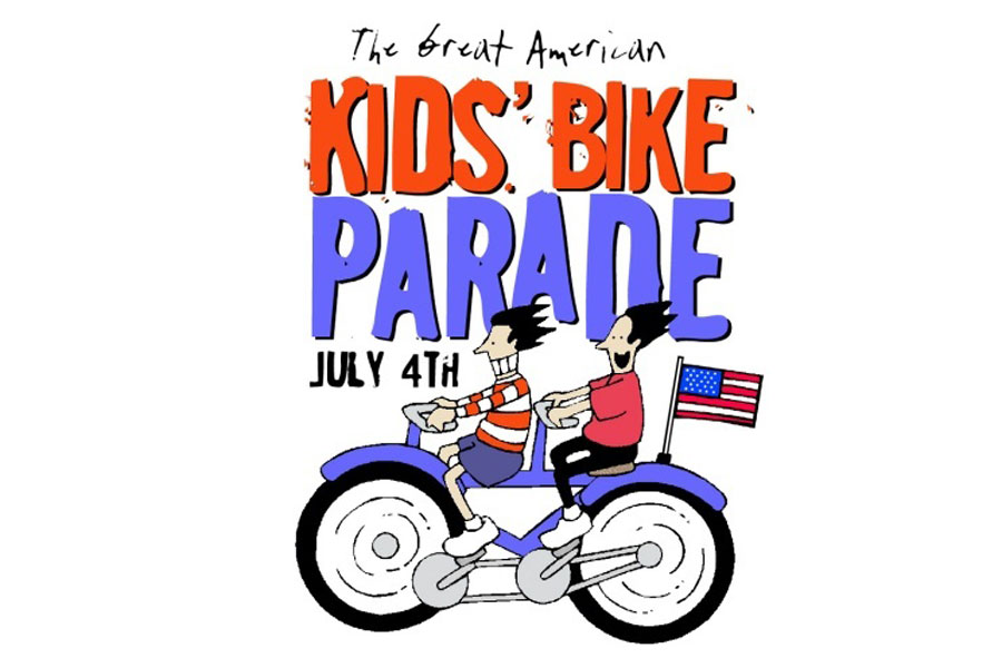 Biking clipart 4th july. Great american th of