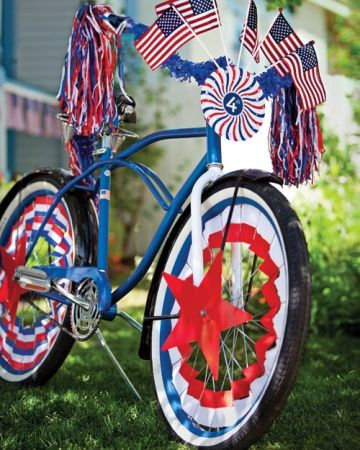 Biking clipart 4th july. Fourth of crafts and