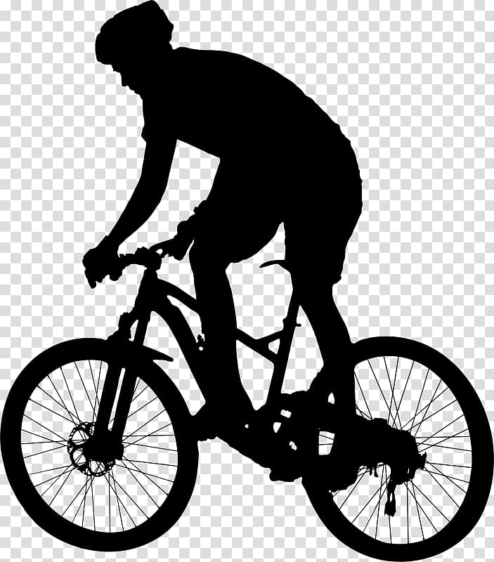 Bicycle mountain bike cycling. Biking clipart